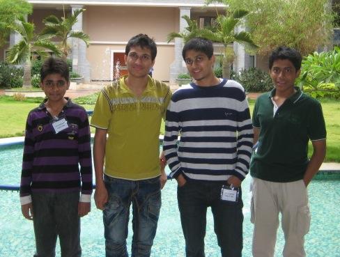 IOI 2012 Team Photo